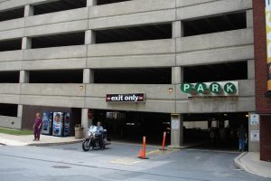 Stairwell collapses at Towson University's Union Parking Garage